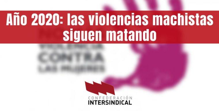 Año 2020: las violencias machistas siguen matando